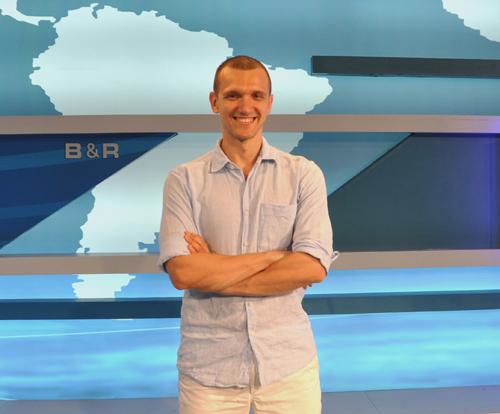 走遍中国 实现梦想 ——专访中国国际广播电台乌克兰语部外籍专家Sasha