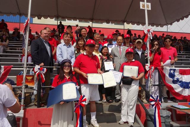第十五届北加州华体会运动大会在加州联合市隆重开幕